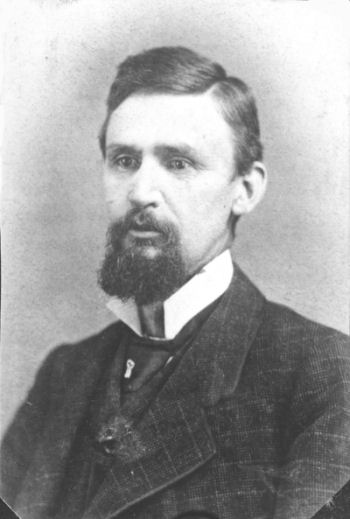 John G. Robb, Harriet's husband, c1882